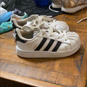 Toddler Adidas Superstar Shoes